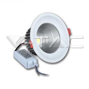 LED Луна - 36W, CREE COB чип, Топло бяла светлина