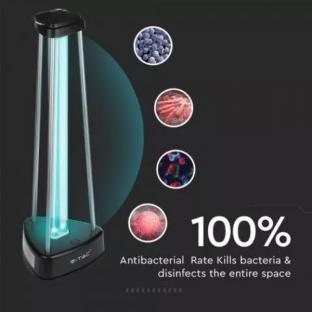 UV-C бактерицидна антивирусна лампа с озон за 60м2 - 38W - 3