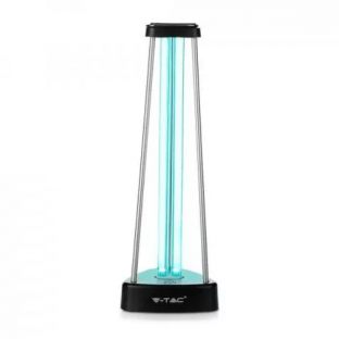 UV-C bactericidal antiviral lamp with ozone for 60m2 - 38W