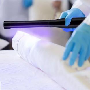 Мини преносима UV-C лампа за дезинфекция - 2