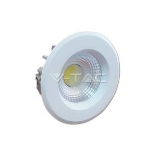 LED Луна - 10W, COB чип, Рефлектор, Бяла светлинао тяло, Бяла светлина