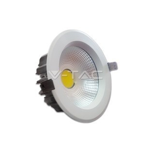 LED Луна - 18W, COB чип, Рефлектор, Бяла светлинао тяло, Бяла светлина