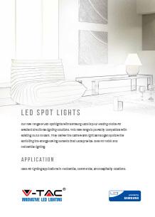 Samsung LED spot lights
