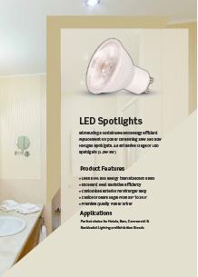 LED спот лампи