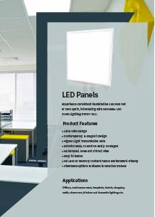LED панели