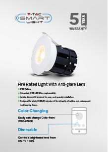 LED пожароустойчиво осветление