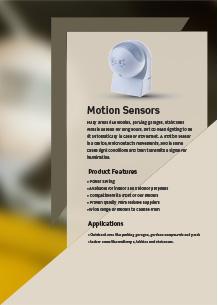 LED сензори за движние