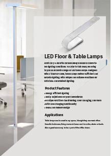 LED настолни лампи