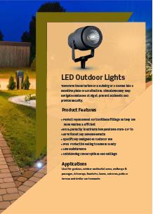 LED външно осветление