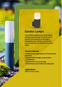LED градинско осветление