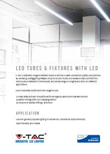 Samsung LED тръби