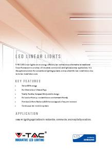 Samsung LED линейни осветители